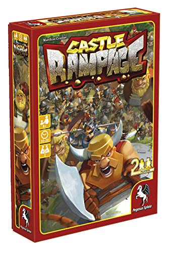Pegasus Spiele 18144E - Castle Rampage (englische Ausgabe)