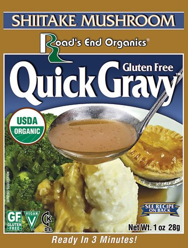 Road's End Organics Gravy Mix Gluten Free Shiitake Mushroom -- 1 oz - 2 pc