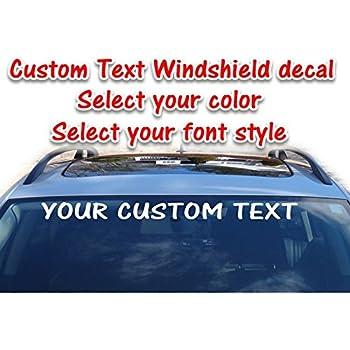 "Up to 14/""x40/"" Custom Vinyl Decal Business Lettering Window Vehicle Car Van Truck"