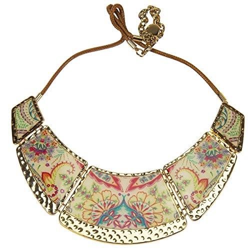 Desigual Damen Halskette Schmuck Kette Collier Modeschmuck COLLAR PIEZAS VALKIRIA 71G9EF5/1024