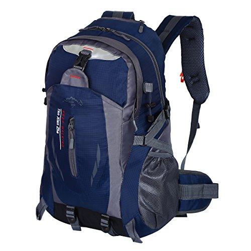 HWJIANFENG Zaino 30L Sportivo Unisex in Nylon Poliestere da Trekking Montagna Borse per Outdoor Campeggio Escursionismo Viaggi Zaini per Uso Quotidiano Porta PC