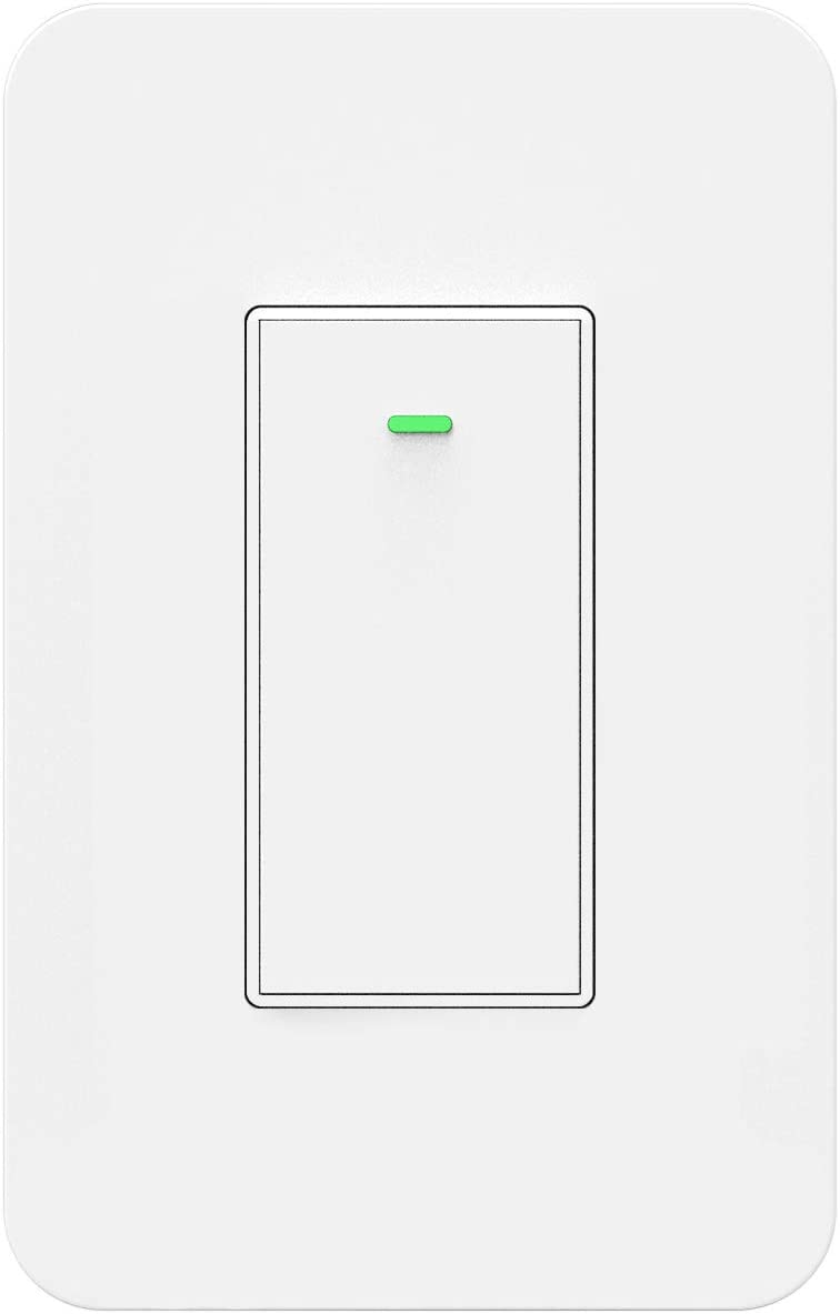 3 Way Smart Switch, Smart Home WiFi Light Switch Compatible with Alexa and Google Assistant, Neutral Wire Required