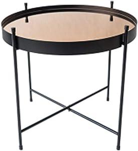 Tavolino da caffè JCOCO Nordico, Soggiorno Camera da Letto Piccolo Appartamento Tavolino Rotondo Tavolino (Dimensioni : 42 * 45cm)