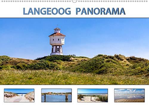 LANGEOOG PANORAMA (Wandkalender 2021 DIN A2 quer)