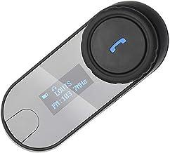 600m// 3 Jinete//Bluetooth 3.0// Manos Libres//Radio FM//Impermeabilidad Intercomunicador Casco Moto Montar a Caballo Esqu/í Deportes Aire Libre Auriculares Bluetooth para Motocicleta