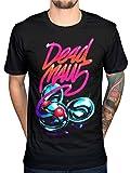 AWDIP Men's Official Deadmau5 Neon Logo T-Shirt Kat Von D House Music Dance Trance