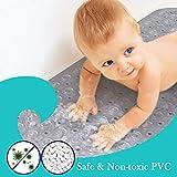 Immagine 2 renfox tappetino doccia antiscivolo per