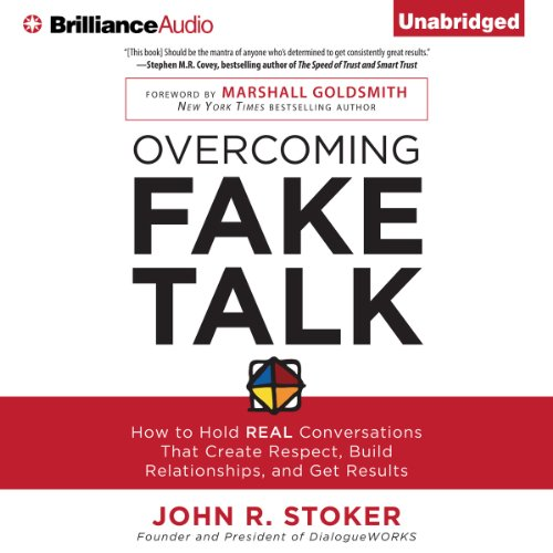 Overcoming Fake Talk audiobook cover art