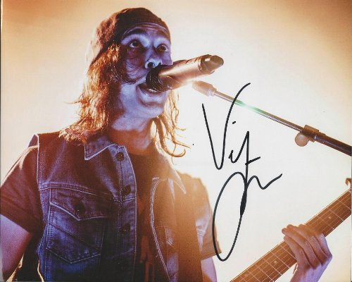 Vic Fuentes of Pierce the Veil Reprint Signed Photo Rp