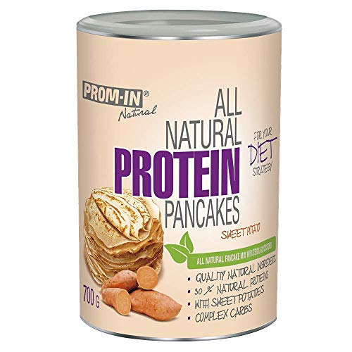 PROM-IN Natural All Natural Protein Pancakes | All Natural Protein Pancakes | Rich in Protein | 700g (Sweet Potatoes)