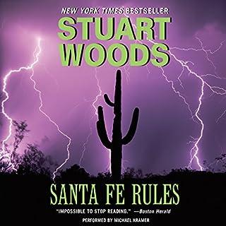 Santa Fe Rules audiobook cover art