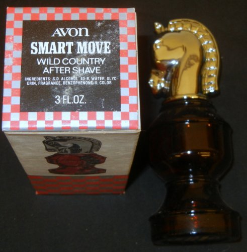 Avon 1970s Knight Smart Move Chess Piece After Shave
