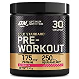 Best Pre Workout For Women - Optimum Nutrition Gold Standard Pre Workout Powder, Energy Review