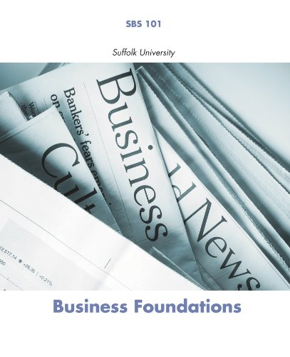 Business Foundations (Suffolk University, SBS 101)
