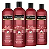 TRESemmé Keratin Smooth Shampoo For dry hair Keratin Smooth Sleek Look for Up to 72 Hours 592 ML 4 Count