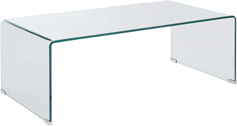 Coaster Home Furnishings Rectangular Coffee Table Clear