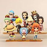 Lote de 10 figuras de anime One Piece con forma de...