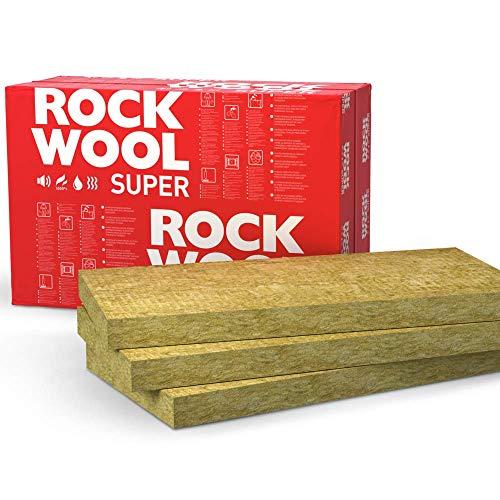 ROCKWOOL Dämmplatten für akustische Wärmedämmung, 100 mm