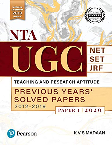 NTA UGC Previous Years Solved Papers (2012 - 2019)