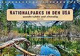 Nationalparks in den USA - wunderschön und einmalig (Tischkalender 2020 DIN A5 quer)