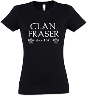 Urban Backwoods Clan Fraser Camiseta de Mujer Women T-Shirt