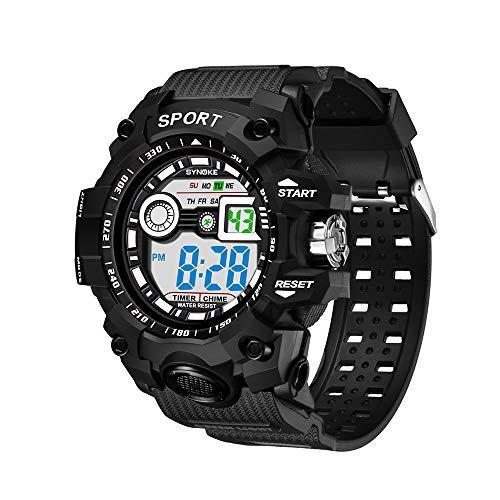 Orologio da esterno impermeabile multifunzione a led da corsa orologio digitale da uomo orologi sportivi Orologio da polso digitale relogio digitale