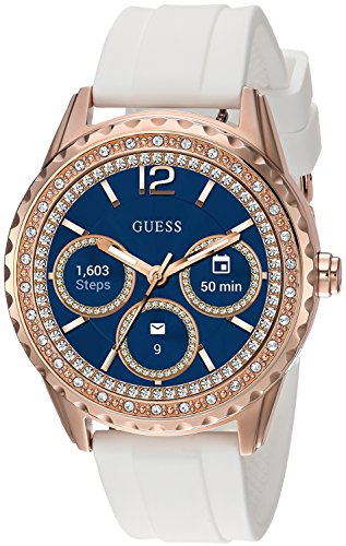 Guess Jemma Ladies Touch AMOLED Rose Gold Smartwatch