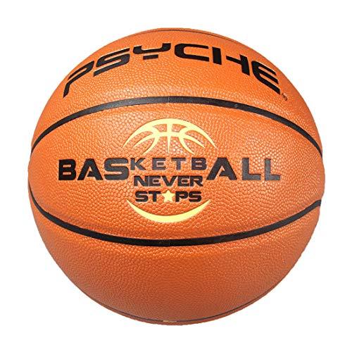 Panpan Nº 7 PU Baloncesto para Interiores y al Aire Libre del Cuero Baloncesto Suave Universal para Adultos Juego de Entrenamiento