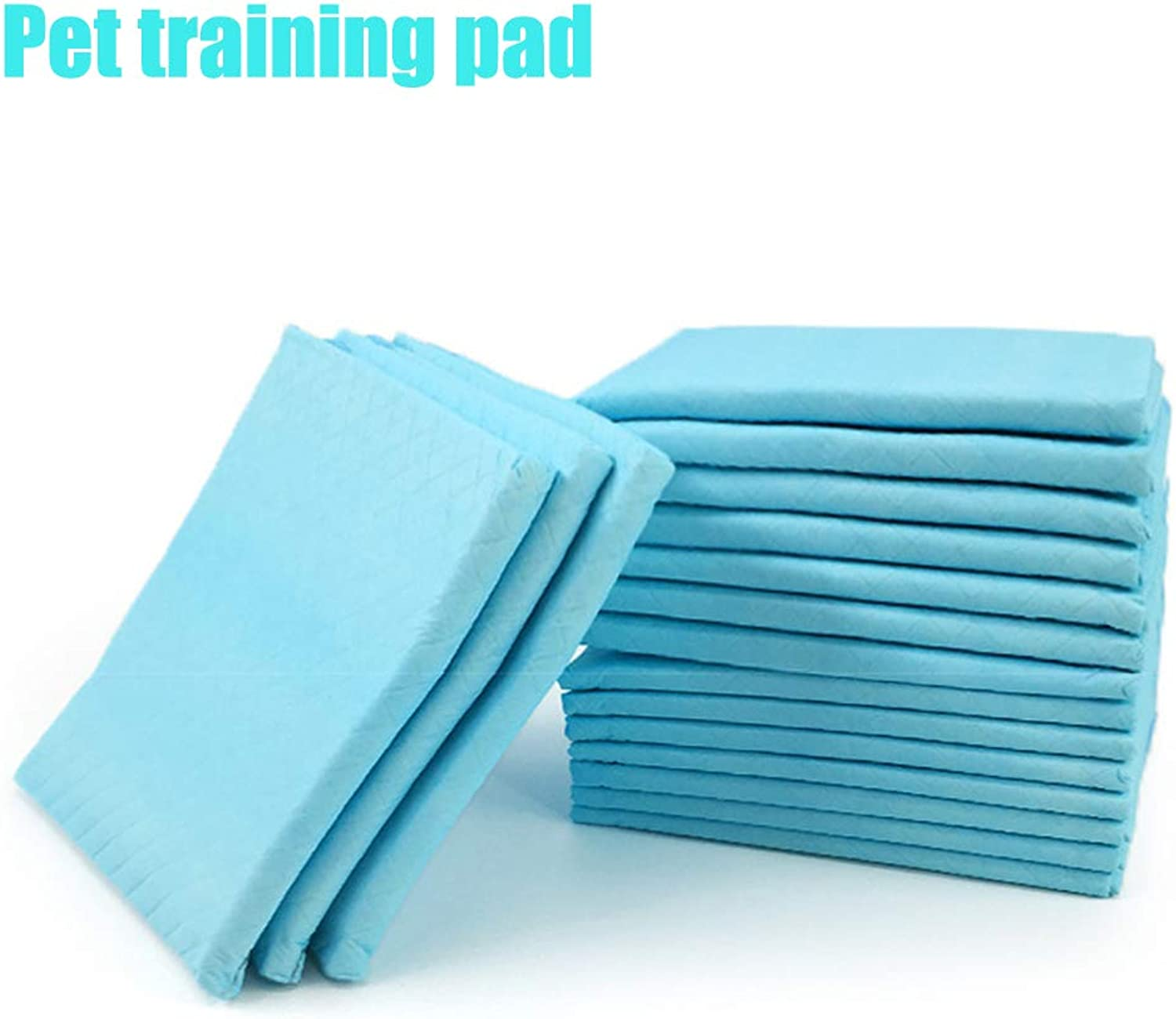 One Time Pet Training Diaper Pad, Native Wood Pulp, SkinFriendly, Dry, Breathable, Soft and Comfortable Deodorant Pads Suitable for All Types of Cats and Dogs,60  90cm20pcs,XL