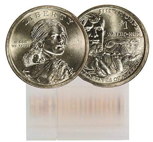 2018 D Sacagawea 25-Coin Dollar Roll BU