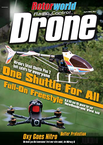 RC Magazine : Radio Control Drone : May 2021 : Rotor world : Drone Magazine 2021