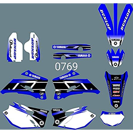 DST0187 3M Customized Motorcross Stickers Motorcycle Decals Graphics Kit for YAMAHA WR250F 2007-2013 /& WR450F 2007-2011