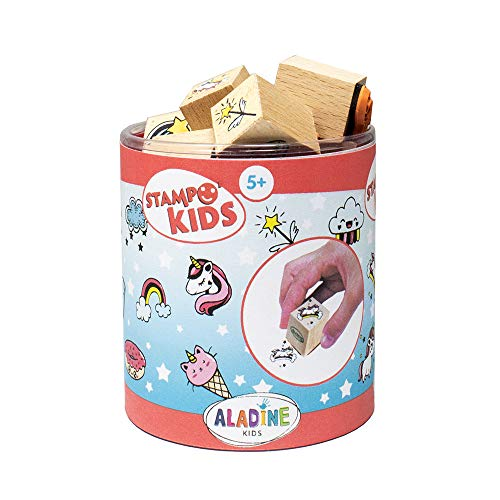 Set of Comic Strip Stamps Toys and Creative Games Box of 29 Stamps Aladine Stampo Comics Included Auction House