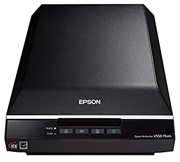 Epson Perfection V550 Color Photo Image Film Negative & Document Scanner with 6400 DPI Optical Resolution