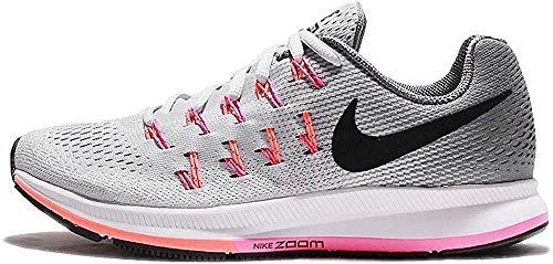 Nike Wmns Air Zoom Pegasus 33, Scarpe da Corsa Donna, Giallo (Matte Silver/White/Volt/Black/Polar), 36.5 EU