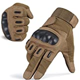 Men's Tactical Gloves Full Finger Outdoor Sports Shooting Cycling Motorcycle Hunting Armor Racing