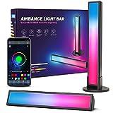 Ezanaki Smart Luces LED, Lámpara RGB Inteligente, Retroiluminación LED de TV para Habitaciones Decorativas, Sincronización de Lámpara de Juegos con Música y Control de APP, LED Lámpara para PC, TV