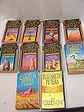 Amelia Peabody Mystery Set 9 vol: Crocodile Sandbank, Curse Pharaohs, Hippopotamus Pool, Camel Died, Mummy Case, Deeds Disturber, Seeing Cat, Snake Crocodile Dog, Lion in Valley