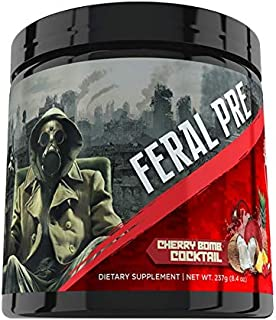 Apocalypse Labz Feral Pre Pre-Workout Powder Supplement - Boosts Energy & Focus, Reduces Muscle Fatigue - Creatine, Beta-A...