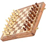 SPG Magnetic Travel Chess Set with Folding Chess Board Educational Toys for Kids and Adults