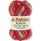 Patons Kroy Socks Yarn - (1) Super Fine Gauge - 1.75 oz - Dad's Jacquard Dad's Jacquard -