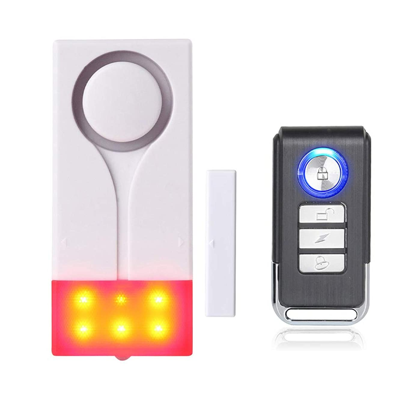 リム手術カウンタMengshen 磁気センサー アラーム ワイヤレス ライトサウンド ドア ウエイ ホーム セキュリティ M70