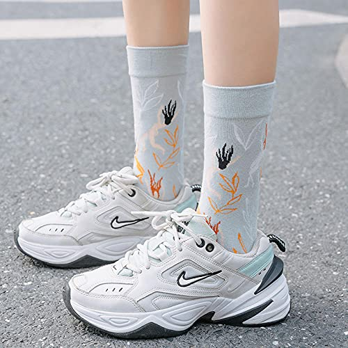 MIWNXM 10 Pares Socks French Design Socks Female Personality Cotton Men S Skateboard Hip-Hop Stockings