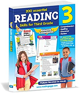 Reading for 3rd Grade - 200 Essential Reading Skills (Reading Eggs)