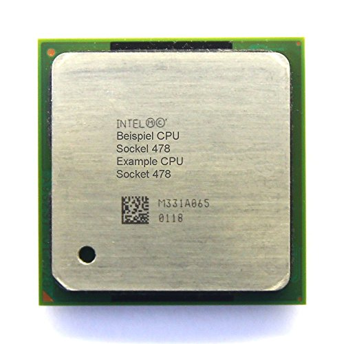 Intel Pentium 4 SL6DX 2.66GHz/512KB/533MHz socket/sokkel 478 processor PC-CPU (gecertificeerd en gereviseerd)