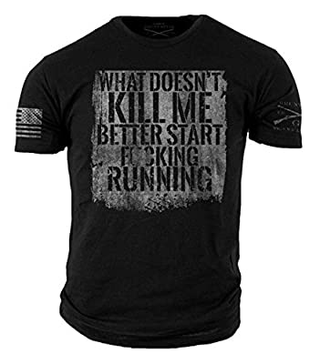 Grunt Style Start Running T-Shirt - Medium Black