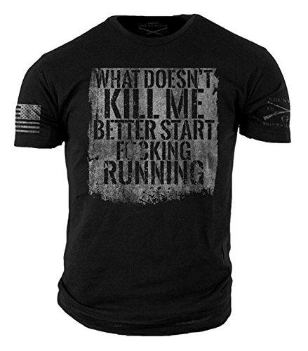 Grunt Style Start Running T-Shirt 3XLarge Black