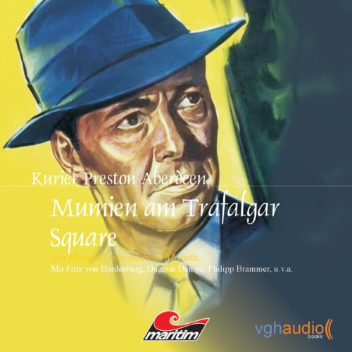 Page de couverture de Mumien am Trafalger Square
