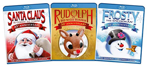 The Original Christmas Classics Giftset (Santa Claus: Is Comin' to Town! / Rudolph: The Red-Nosed Reindeer / Frosty: The Snowman) (Blu-ray)