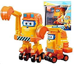 ❥The new member of Super Wings Season5, Swampy, is a propulsion boat with a lively character. In the fifth season of Super Flying Man, he formed a vitality diving team with Xiaoqing and Willie. ❥Swampy can transform a toy spaceship into a robot in on...